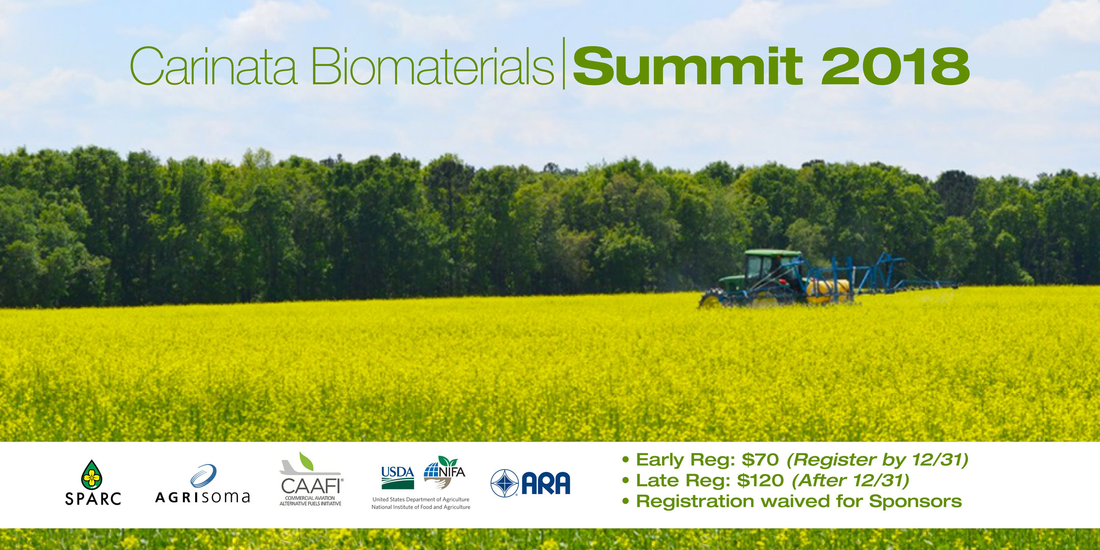 Carinata Biomaterials Summit 2018